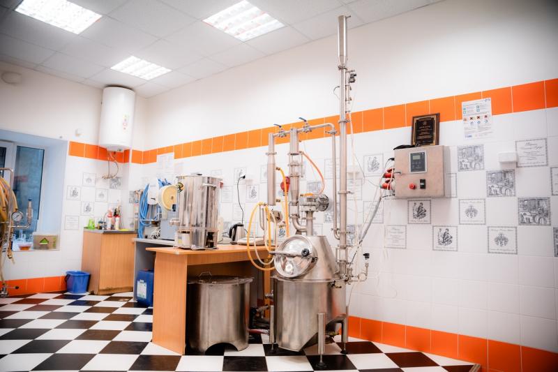 Мини-пивоварня в Университете ИТМО