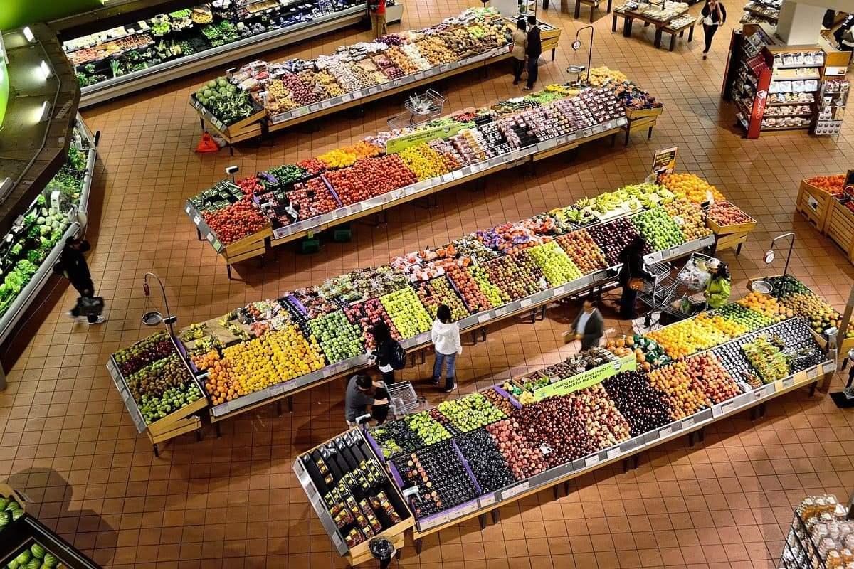 Продукты, супермаркет