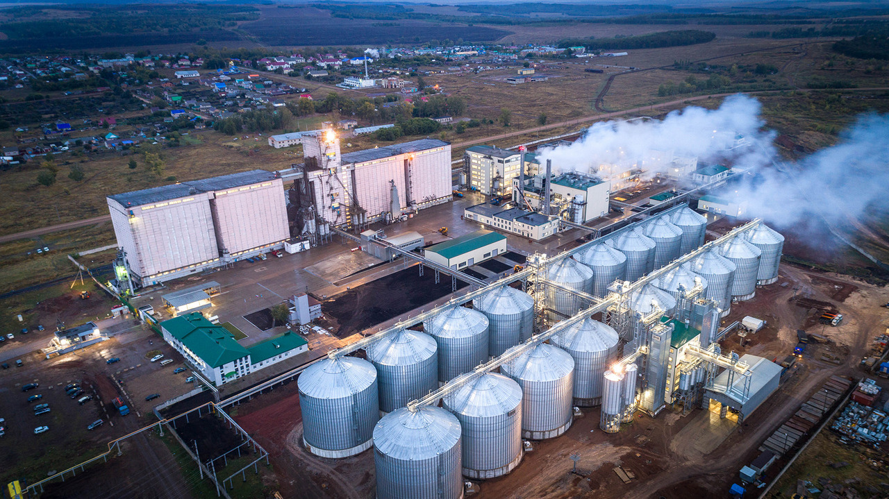 Элеватор маслоэкстракционный завод