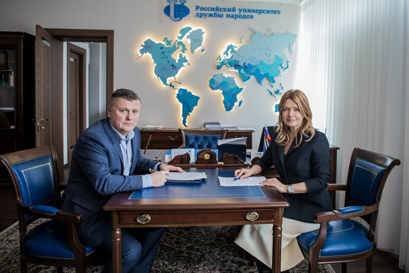 РУДН и ЗАО «ЭВАЛАР» заключили соглашение о сотрудничестве